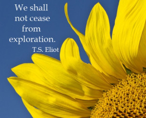 we shall not cease from exploration t s eliot