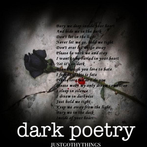 book dark poems depressing poems get