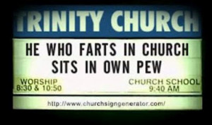 Funny Church Signs (26 Pics)