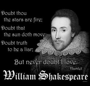 Frases de amor de William Shakespeare