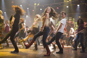 New Dance-Packed 'Footloose' Clip: Ren and Ariel Country Dancing in ...