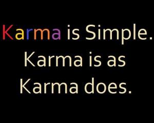 Karma!