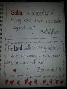 Beth Moore quote and Zephaniah 3:5 beth moore, quotes, better, inspir ...