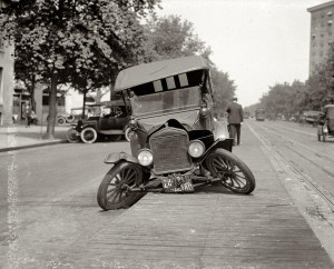 Old-Car-Crash