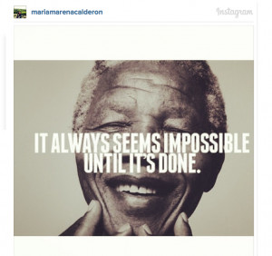 Nelson Mandela's famous quotes commemorated