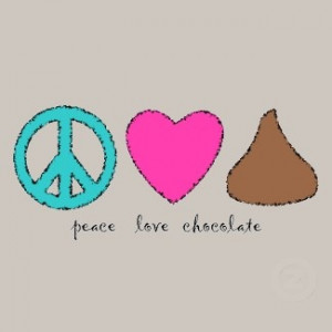 my life...i love chocolate :)
