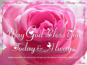 ... in god then we always want that blessings of god be showered on us god