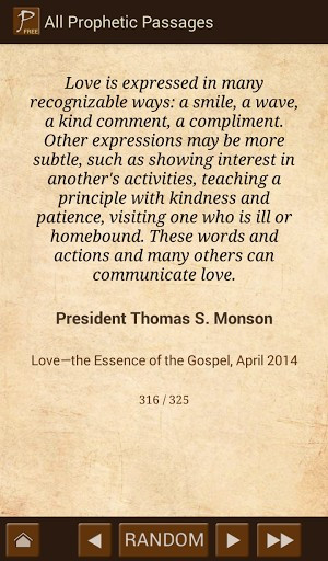 LDS Prophet Quotes