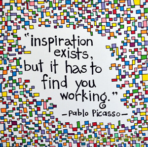 Picasso Quotes HD Wallpaper 7