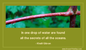 ... Quotes about Water from my large collection of inspirational quotes