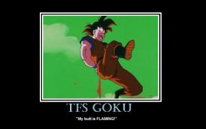 TeamFourStar Goku Poster by Deidara-Clone