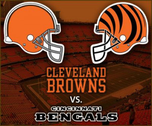 the cleveland browns go on the road to face division rival cincinnati