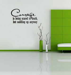 Western Vinyl Wall Quotes