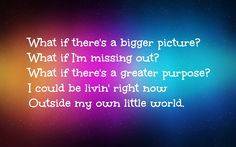 My Own Little World - Matthew West