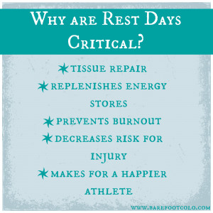 Tissue repair: When you exercise, your muscles fibers tear. Resting ...