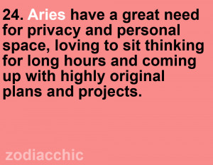 Aries | Zodiac ChicSo I know I don't reblog a lot on my tumblr, but ...