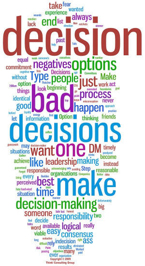 One Is Paid To Make Bad Choices – Make Strategic Corporate Decisions ...