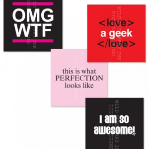 Fun Phrases Sassy Quotes -1 Inch Square Digital Collage Sheet 0097