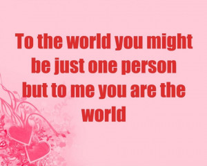 ... : Just Love Sayings Of Trust To The World You Might Be Just One Quote