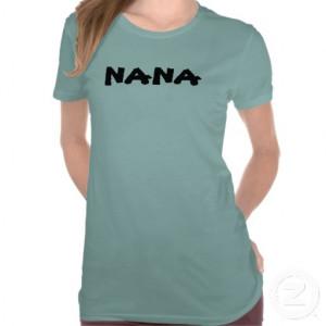 Nana tee shirt