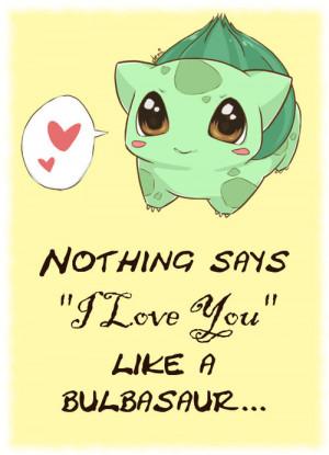 Pokemon Love Quotes