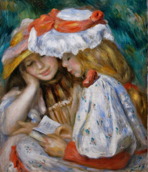 Pierre-Auguste+Renoir+(French+Impressionist+Painter,+1841-1919)++Two ...