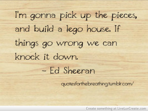 cute, ed sheeran1, inspirational, life, quote, quotes