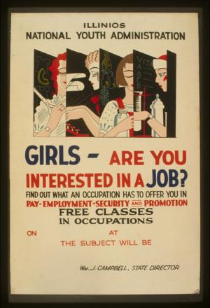 Girls - jobs