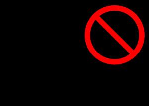 No Smoking Sign Large and Optimized