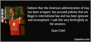 American Administration quote #2