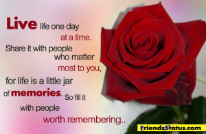 Quotes About Life Memories