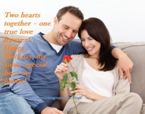 Birthday Quotes For Husband {By Romantic Wife Love Quote}