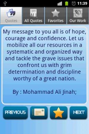 Muhammad Ali Jinnah Quotes screenshot 2