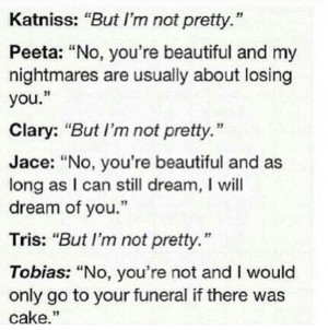 Divergent Quotes Tris And Four Divergent tris and tobias