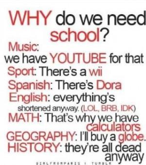 funny school quotes