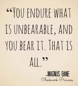 Magnus Bane, quote from the Clockwork Princess. Magnus Bane is one of ...
