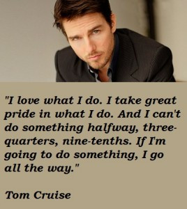 TOP10 Quotes From Tom Cruise Movies