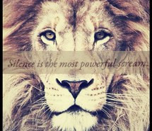 Strength Quotes About Lions