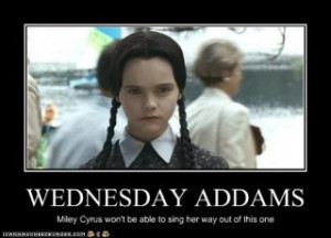 Wednesday Addams Funny Quotes