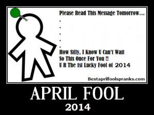 April fools text Messages and jokes