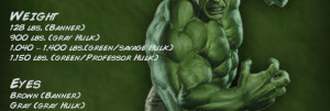 Incredible Hulk and Quotes
