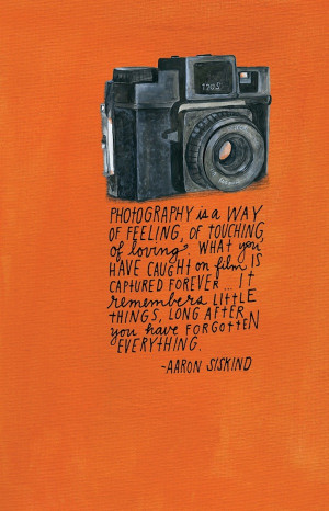 Inspiring Quotes By Famous Photographers – Lisa Congdon