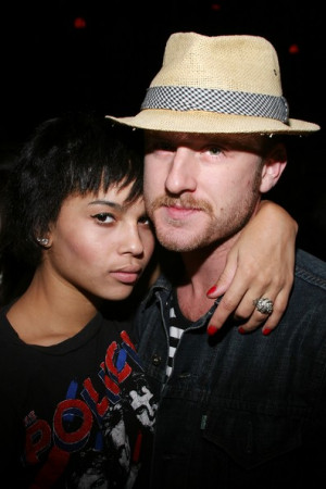 ... quotes, facts, and trivia Ben Foster and Zoe Kravitz on FamousHookups