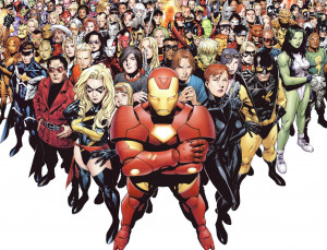Marvel Superheroes Wallpaper