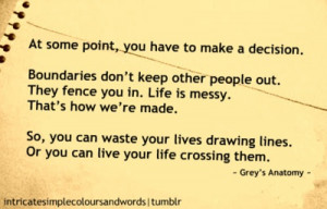 life is messy, but that's how we're made