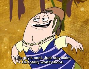 Tags: squidbillies 1x06 evan quotes