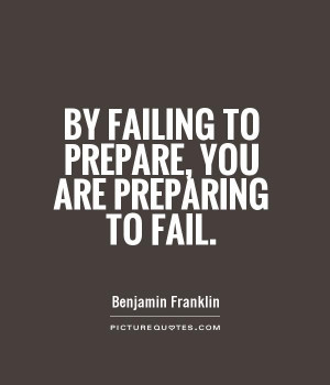 Motivational Quotes Fail Quotes Failing Quotes Prepare Quotes Benjamin ...