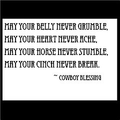 Cowboy Quote (Especially for Rodeo Bob)