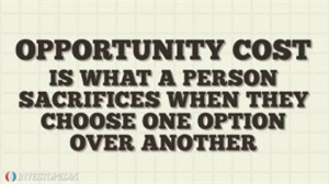Image search: Opportunity Cost
