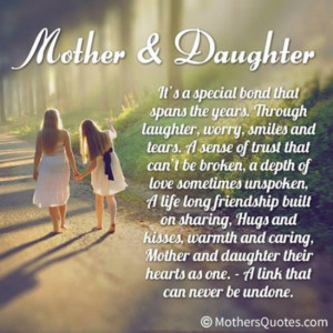 daughter to mother poems and quotes
